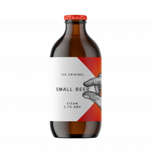Small Beer Steam (2.7% ABV)