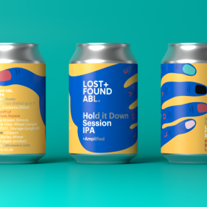 Hold It Down Session IPA 4.2% (Gluten Free AND Vegan)