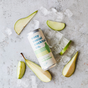apple + pear hard seltzer